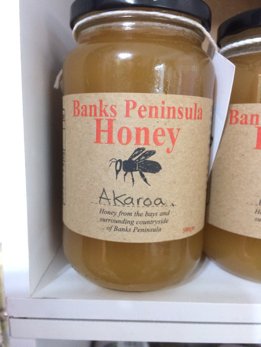 Banks Peninsula honey - Akaroa