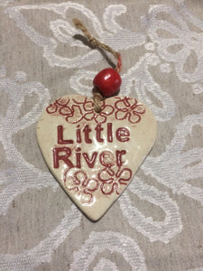 Ceramic Hearts - Little River
