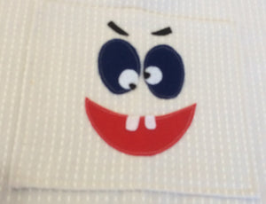 Children's Apron - Happy face