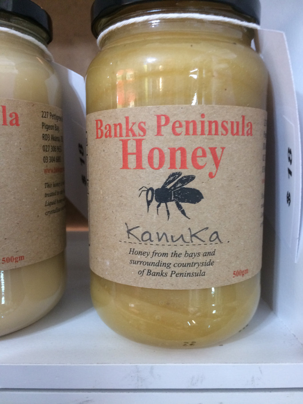 Banks Peninsula honey - Kanuka