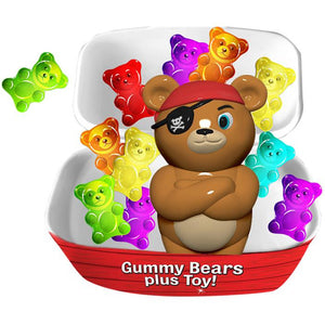 Bearied Treasure Pirate Bears | Tray of 10