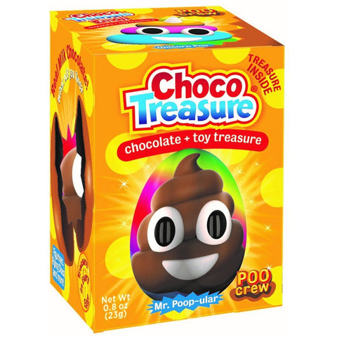 Poo Crew Choco Treasure - 12ct tray