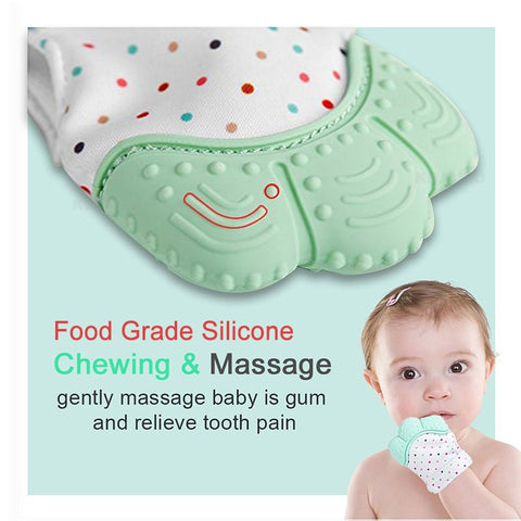Baby Silicone Teething Glove