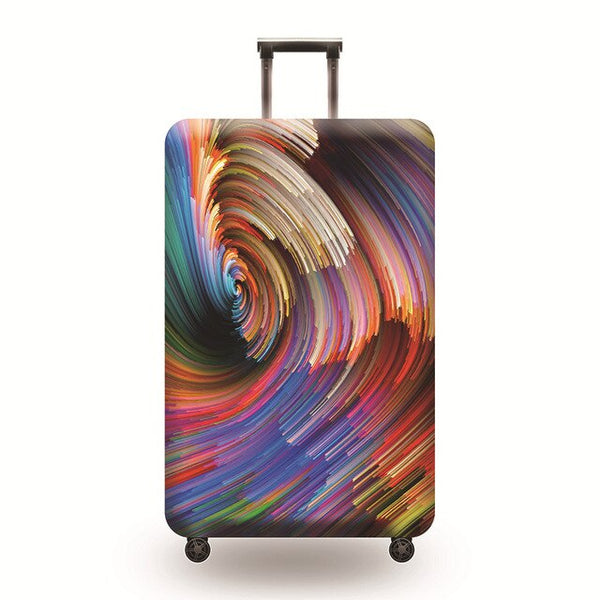 Colored storm Luggage