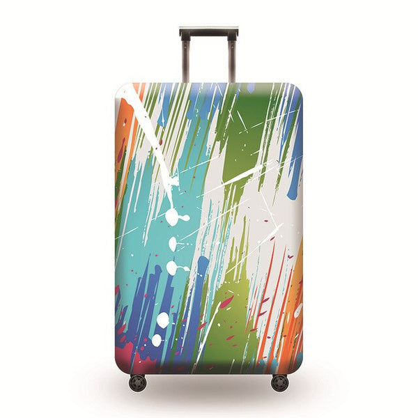 Painted Luggage 1