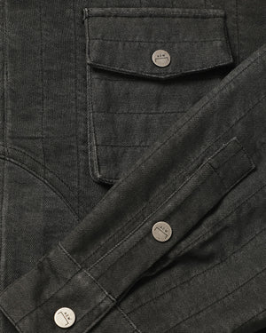 Overdyed Denim Overshirt