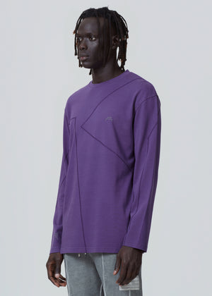 Purple Flatlock Long-sleeve A-COLD-WALL* (ACW)