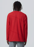 Red Pigment Flatlock Long-Sleeve A-COLD-WALL* (ACW)