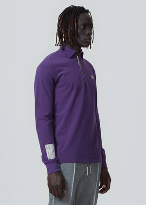 Purple Longsleeve Polo A-COLD-WALL* (ACW)