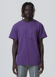 Purple Flatlock Short-sleeve A-COLD-WALL* (ACW)