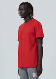 Red Pigment Flatlock Short-sleeve A-COLD-WALL* (ACW)