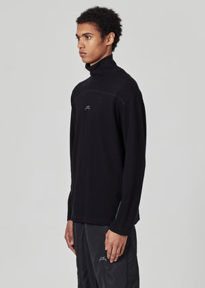 Funnel Neck Long-Sleeve