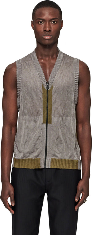 Technical Knitted Gilet