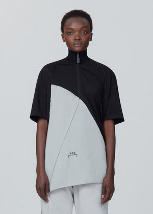 Raw Edge Zip SS Jersey - Onyx/Slate A-COLD-WALL* (ACW)