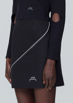 Piping Split Skirt - Onyx A-COLD-WALL* (ACW)