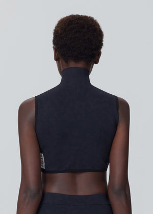 Core Funnel Neck Crop Top - Onyx A-COLD-WALL* (ACW)