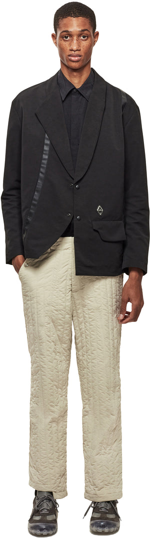 Offset Quilted Trousers
