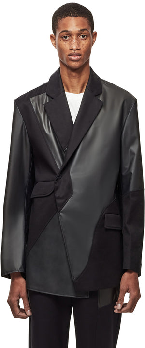 Black-Form Blazer