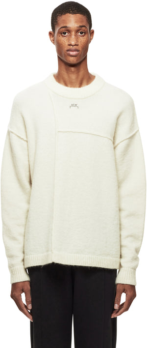 Mondrian Seam Knit Sweater
