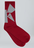Fractured Red Pigment Sock A-COLD-WALL* (ACW)