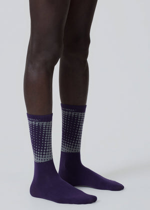 Halftone Purple Pigment Sock A-COLD-WALL* (ACW)