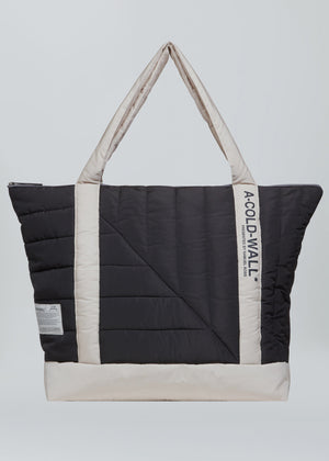 Taupe/Onyx Nylon Padded Tote Bag A-COLD-WALL* (ACW)