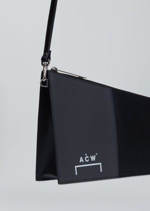 Asymmetric Leather Bag - Onyx/Slate A-COLD-WALL* (ACW)