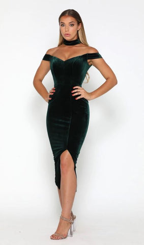 Barry Dress Emerald