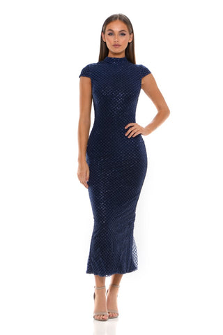 HONEY DRESS NAVY