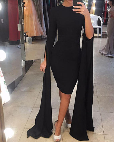 LARA LONG SLEEVES DRESS