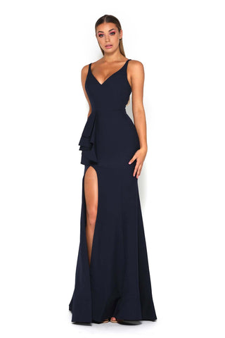 SANSA GOWN NAVY