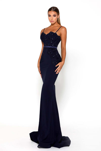 NORMAGALE GOWN NAVY