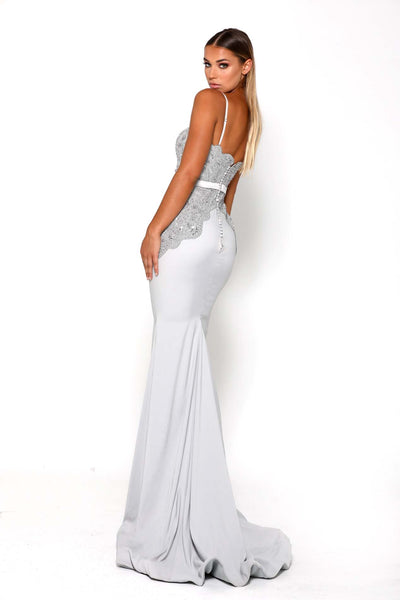 NORMAGALE GOWN SILVER