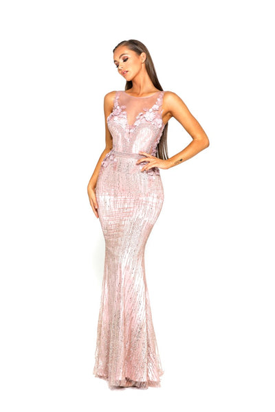 PS1903 GOWN BLUSH