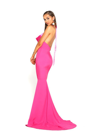 PS1911 FUSHIA DRESS