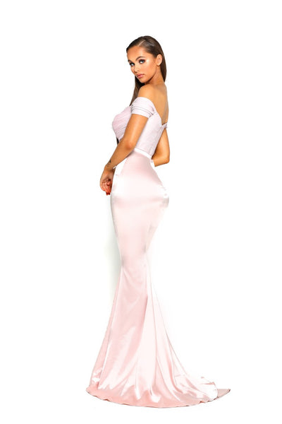 PS1914 GOWN PINK DIAMOND MERMAID
