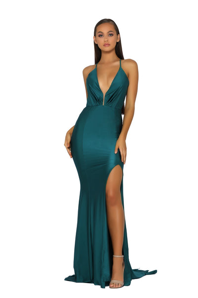 PS1919 GOWN EMERALD