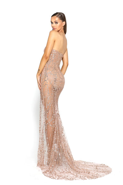 PS1930 ROSE GOLD DRESS