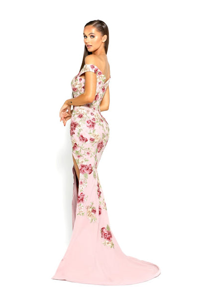 PS1985S FLORAL GOWN