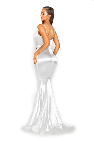 PS2003 WHITE DRESS