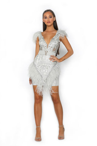 PS2011 SILVER DRESS