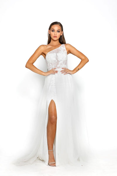 PS2016 WHITE MAYA GOWN