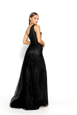 PS2018 BLACK EVENING DRESS
