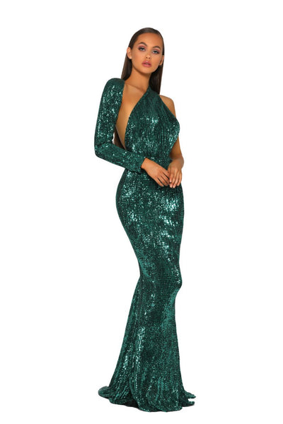 PS2045 EMERALD DRESS