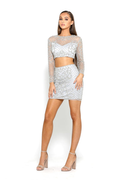 PS2049 SILVER DRESS