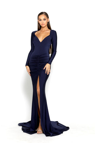PS2065 NAVY GOWN