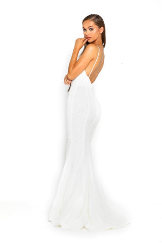 PS2070 WHITE DRESS