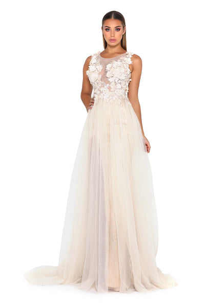 BERTA GOWN CREAM
