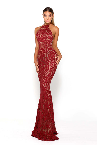 ELLE GOWN RED