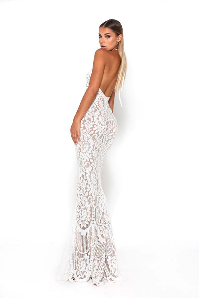 ELLE GOWN WHITE